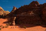 Rock-climbing in Wadi Rum- Jordan
