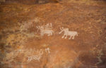 Bhimbetka Rock Shelters. Art in the Stone Age